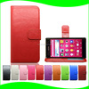 Card Slot Case for Sony Z4 , Magnetic Stand Leather Flip Case for Sony Z4 Z3X, for Sony Z4 Leather Cover Case