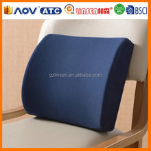 2015 new fashion soft plush top quality car back cushion