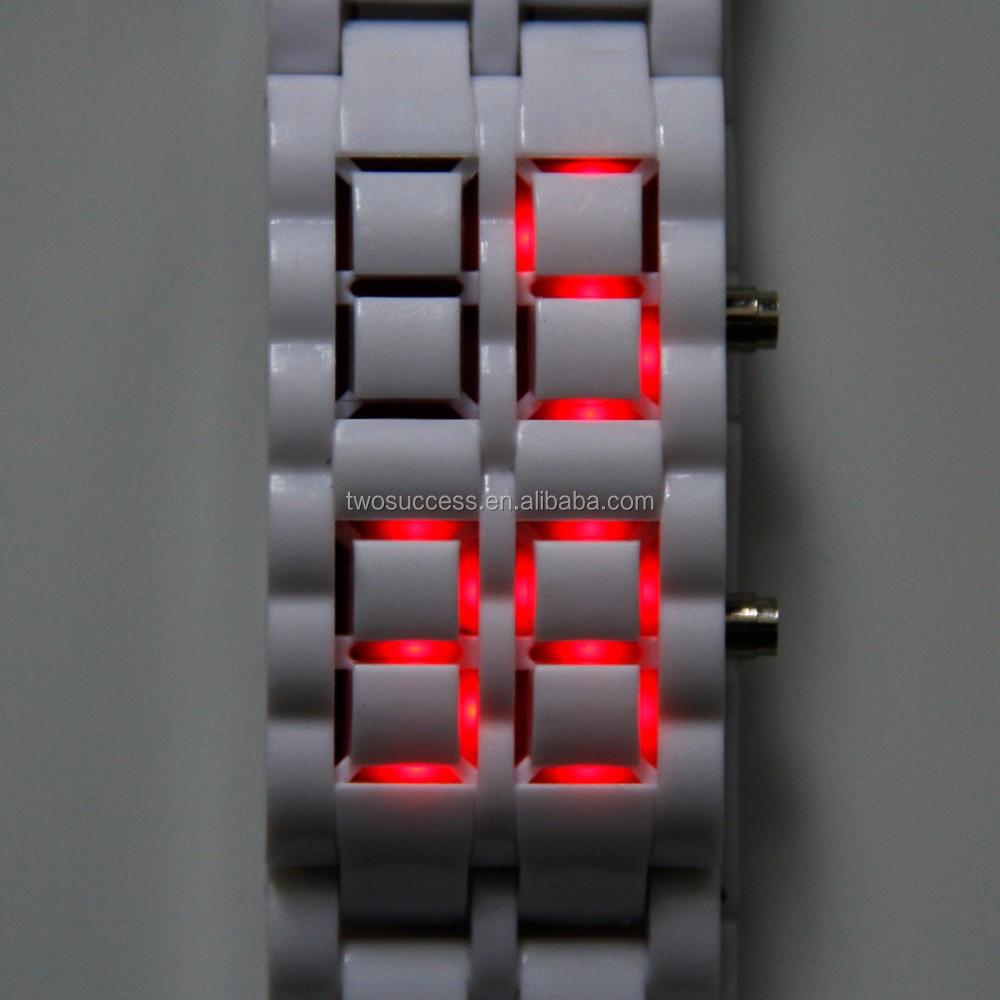 Lava LED chain watch (12)