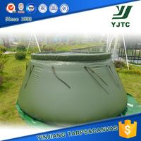 1000d 0.55mm Pvc Tarpaulin Water Storage Tank Fabric