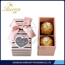 Natural transparent chocolate packaging boxes chocolate