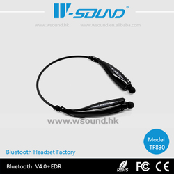 Mobile phone accessory 4.0 module wireless stereo best neckband headphone bluetooth