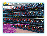 API 5L Gr.B LSAW weld carbon steel line pipe/tube/tubo in stock for sales with price sheet per ton