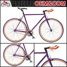 Competitive Price 700C Fixed Gear Alloy Aluminum Single Speed Carbon Road Bike