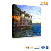 Home Decor Impressionist Venice Italy Oil Painting