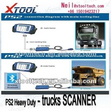 CUMMINS Engine scanner AAAAA PS2 HEAVY DUTY universal truck diagnostic tool & Wireless bluetooth
