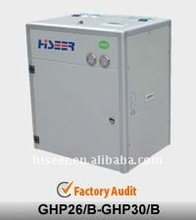 HISEER geothermal heat pumps with high COP, CE approved and TUV test report