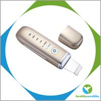 Skin tightening machine elastic Waterproof Ultrasonic Facial Scrubber Machine
