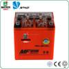 Orange Lead Acid 12V 3Ah Battery, YB3L-BS Gel Battery 12V 3Ah For Motorcycle