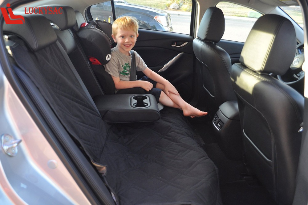 Waterproof Car Bench Seat Cover For Dogs