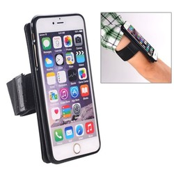Hot Sale Magnetic Style Detachable Sports Armband Case for iPhone 6 with TPU Back Cover