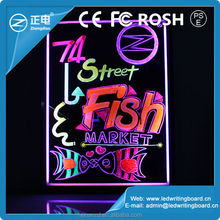 60x80cm hot sale led writing on board with fluorescent marker pen