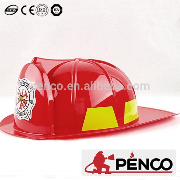 plastic fire fighting helmet toy fire helmet firefighter cap tool