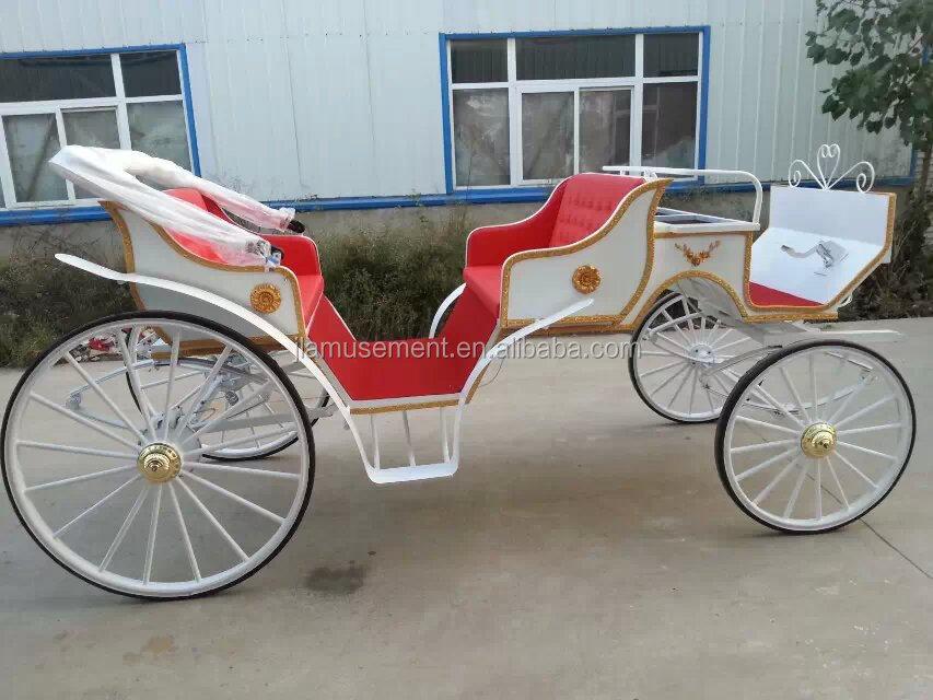 White Horse Carriage Tourism Horse Carriage White
