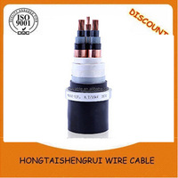 high voltage 3*3*400mm2 Copper Conductor XLPE 26/35kv Cable, PVC Cable, ABC Cable, Power Cable - ZMS Cable