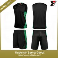 2015 Latest high quality men basketball jersey uniform sets design