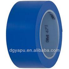 3M Warterprrof PVC Vinly Flooring Mark Adhesive Tape 471 Blue Color 48mmx33m