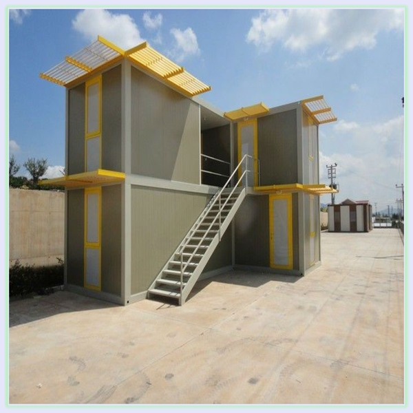 Flat Packed Container House Design Sandwich Panel