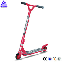 kids alu or plastic wheel inside pedal kick scooter fox pro stunt scooter