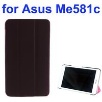Chinese Mobile phone case 3 Folding Texture Leather Case for Asus MeMo Pad 8 ME581C