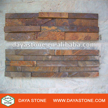 Yellow slate culture stone tile