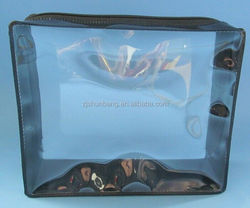 2015 cheap pvc underwear packaging bag/ cheap clear pvc clothes bag/ printed mini ziplock bags