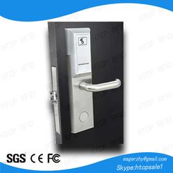 Stainless Steel Remote Control Zigbee wireless network hotel door lock