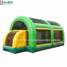 3 in 1 inflatable soccer stadium for football, basketball n volleyball interactive game