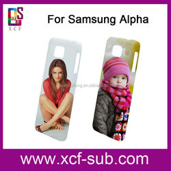 for samsung Galaxy Alpha G8508s Blank phone cover for sublimation 3d printing