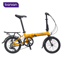 "2015 New Environmental Aluminum Alloy 16"" Folding Bike In Bicycle XMAS Gifts"