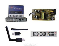 digital tv box fta ibox satellite receiver with biss & patch usb receiver