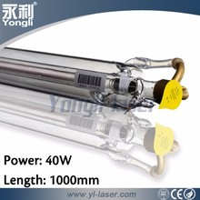 Yongli CE ISO 1000C 1000mm 40W laser tube portable laser cutting for medical (Max 45W)
