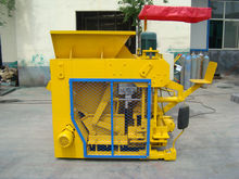 easy operation concrete hollow block machinery