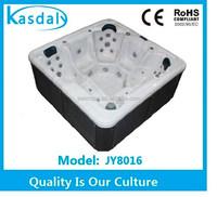 CE china freestanding outdoor aqua massage spa