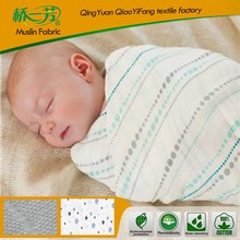 cheapest 100% bamboo fiber baby and infant muslin swaddle blanket