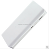 universal portable cell phone charger,10000mah dual USB power bank with led light