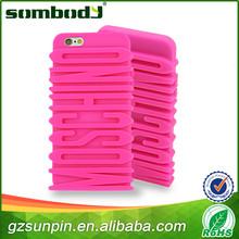 mobchina de moda del teléfono móvil de goma de silicona caso de teléfono