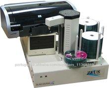 Duplicadora de DVD automática com impressora HP jato de tinta, 2 CD / DVD gravadores, 220 capacidade do disco, PC integrado