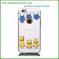 anti-radiation shockproof stand leather phone cover case
