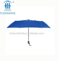 3 folding auto open and close umbrella