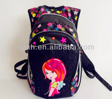School backpack for girls printed backpack