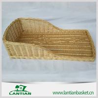 High quality bassinet wicker baby basket with custom logo,custom color