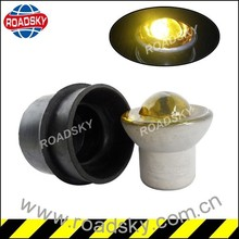 Promotional Led Reflective Driveway Cat Eye Glass Road Stud With Rubber Sleeve