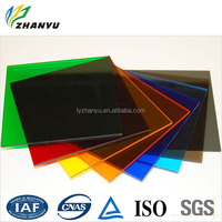 Best Selling Products Made in China Cast Tinted Transparent Acrylic Sheet Anti-UV