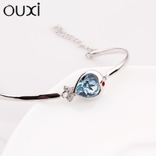 OUXI fancy bangles quotes bracelets for wedding Y60007