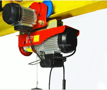 wholesale China Manufacturer High Quality Mini Electric Wire Hoist Winch With Trolley