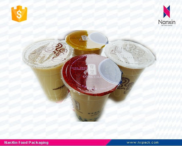 plastic cup sealing roll film for PP or PE cup