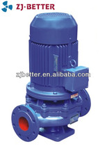 7.5hp ISG vertical industrial electric iron automatic equipment 3 inch centrifugal pump