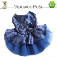 Fashion Decorative Pet Clothes Summer Female Dog Dress Puppy Girl Dress Up Outwear