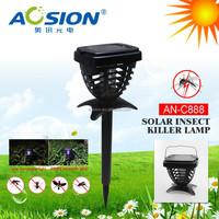 Outdoor/indoor solar panel electric mosquito repellent device